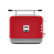 KENWOOD GRILLE PAIN KMIX 900W 2TRANCHES ROUGE